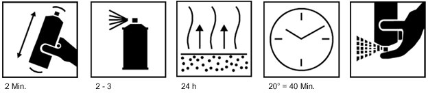 Technical Information Sheet Paint Repair Set