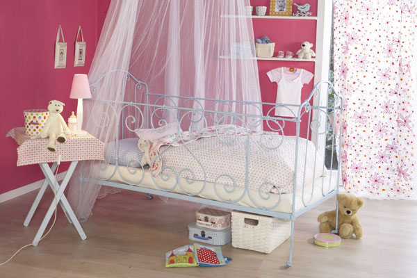 Himmelsbett Kinderzimmer Design Idee