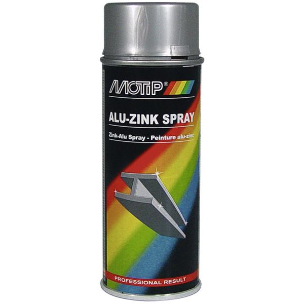 1x 400ml motip zinkspray zink alu spray 04059 ebay. Black Bedroom Furniture Sets. Home Design Ideas