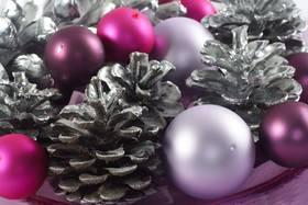 Glanzvolle Weihnachts-Dekoration