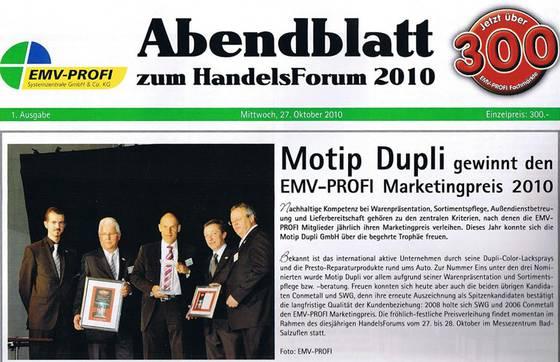 EMV-Marketingpreis