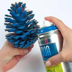 Anwendung Zapfen als Weihnachtsdekoration