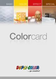 DUPLI-COLOR Colorcard