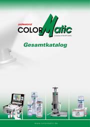 ColorMatic Gesamtkatalog