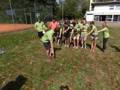 Teambuilding Kanufahrt und Teamspiele