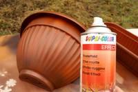 Rosteffekt-Spray - Lackieren Effekt