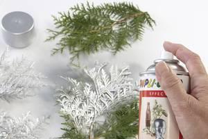 Silberzweige - Weihnachtliche Deko-Ideen