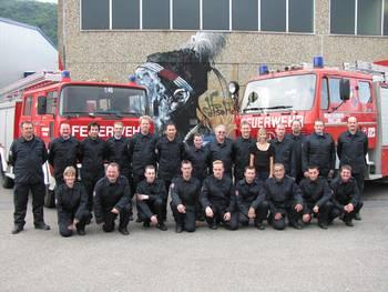 Team Company's fire brigade