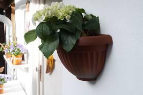 Rosteffekt-Spray - Blumentopf aus Kunsstoff