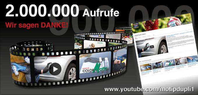 YouTube Kanal der MOTIP DUPLI GmbH