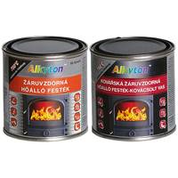 Alkyton heat-resistant brush paint